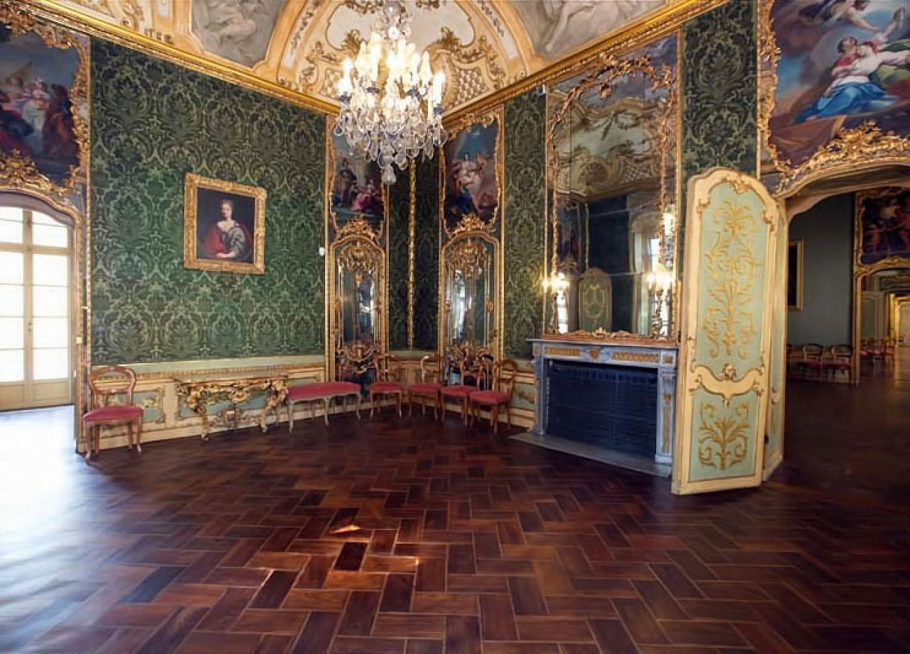 Palazzo falletti di barolo - Sala degli specchi ...