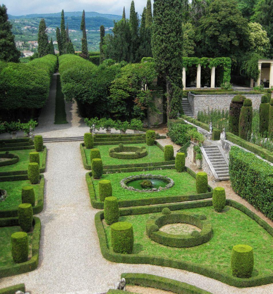Villa rizzardi giardino di pojega - Giardino all italiana ...