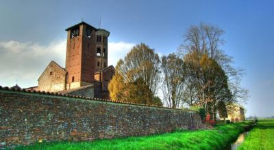 L'abbazia dall'esterno